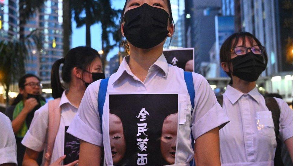 通識科被指是鼓動許多香港學生參加去年示威浪潮的其中一個原因。