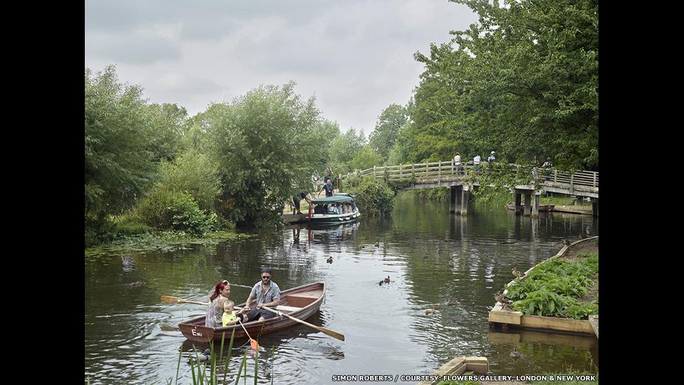 River Stour at Flatford, East Bergholt, Suffolk, 20 July