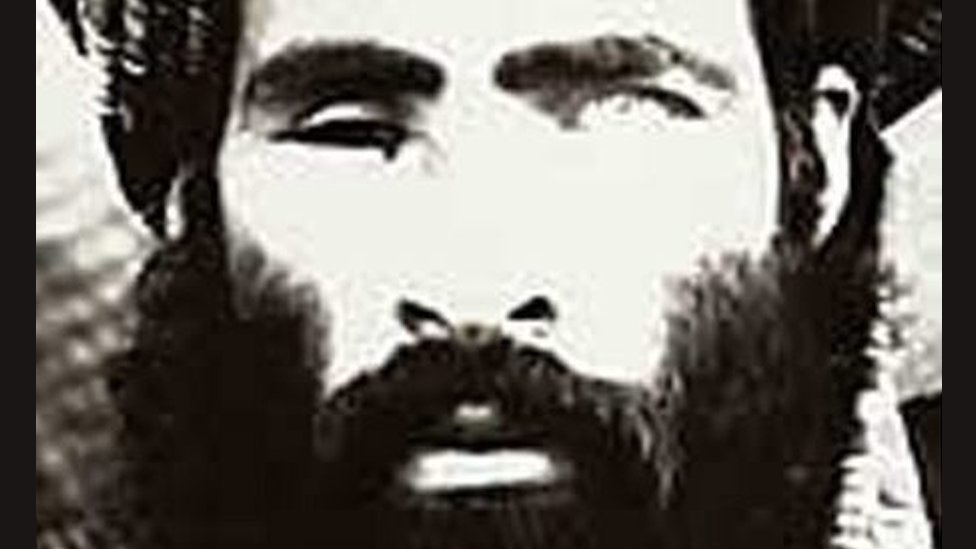 The Taliban leader is believed to have suffered a shrapnel wound to his right eye in the 1980s