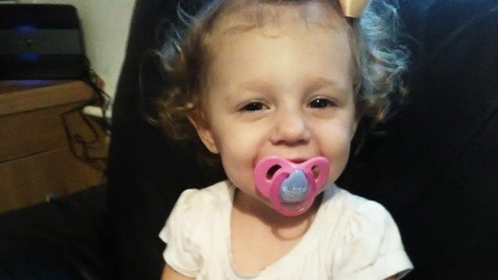 Eve Leatherland: Murder accused 'never hurt' Liskeard toddler
