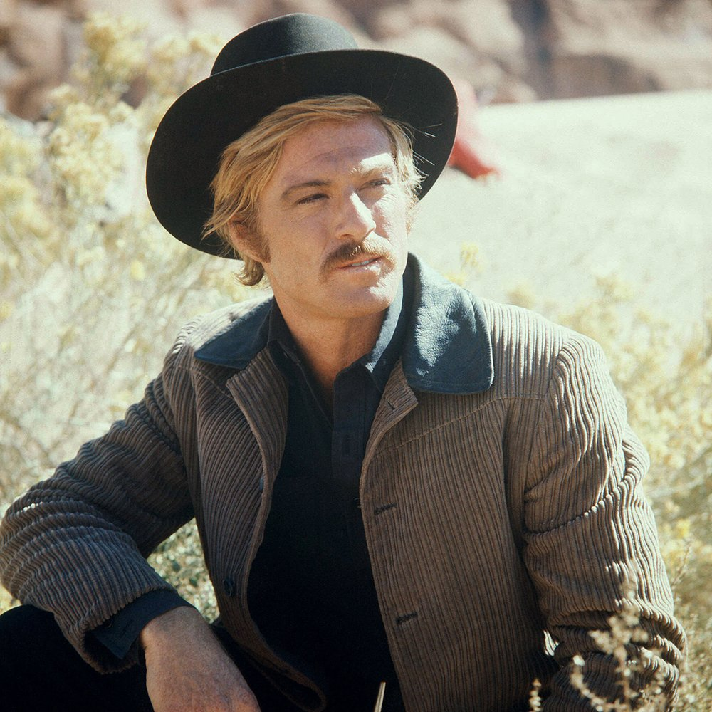 Robert Redford in Butch Cassidy and The Sundance Kid, 1969