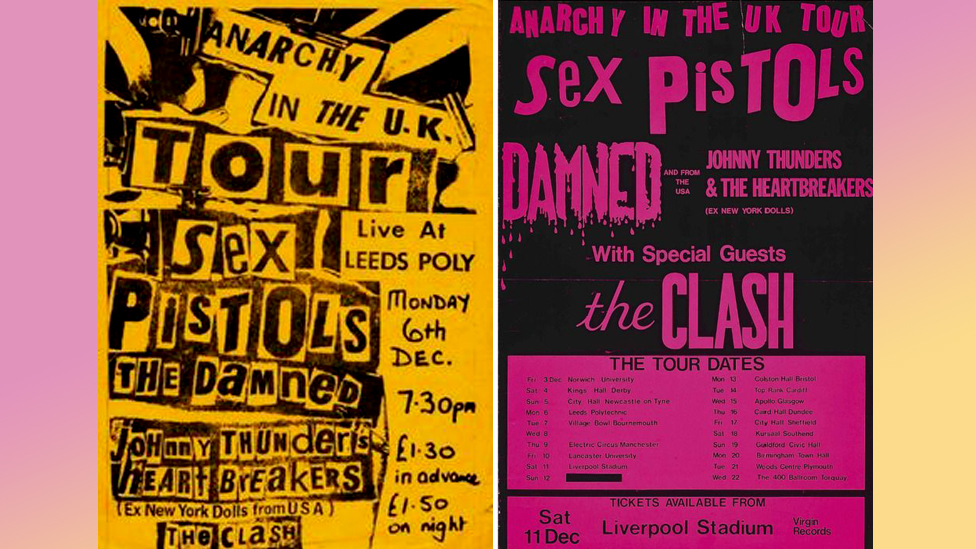 Anarchy in the UK Tour posters