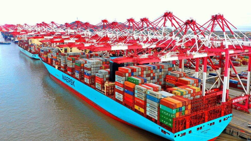 Ships at Shanghai