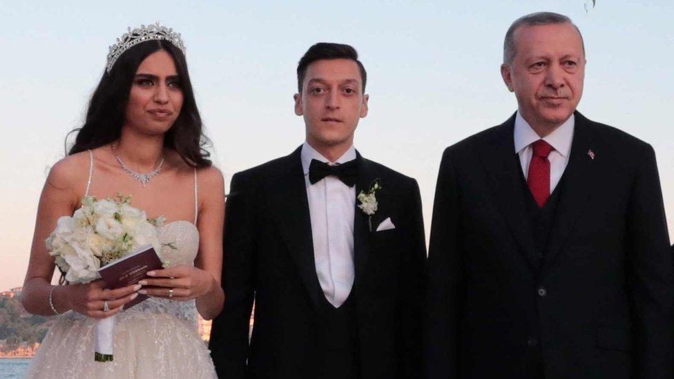 Mladenci i Erdogan