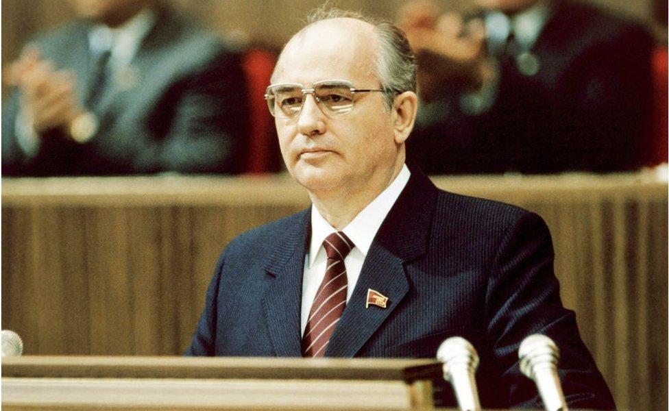 Mijaíl Gorbachov.