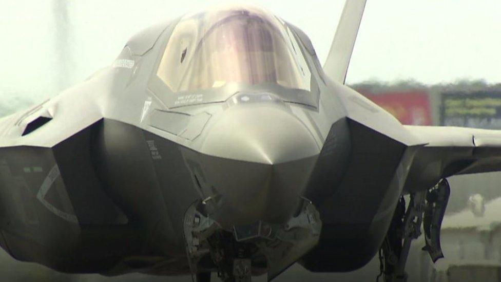 المقاتلة الأمريكية الشبح إف-35