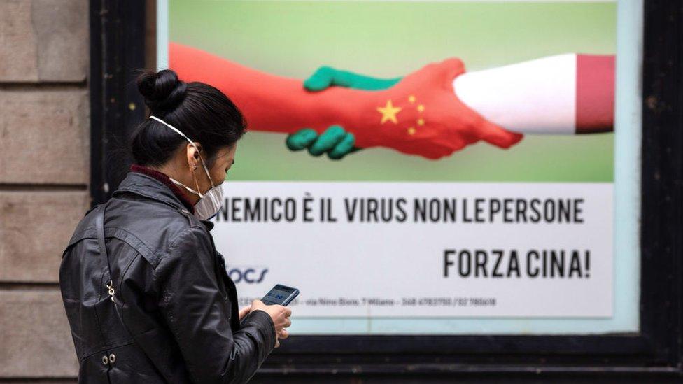Barrio chino de Milán.