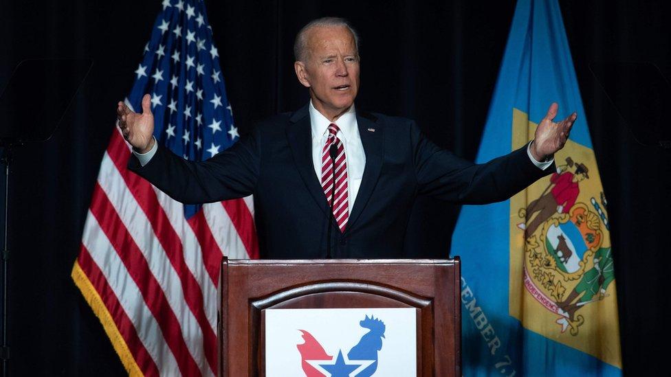 Joe Biden in Delaware