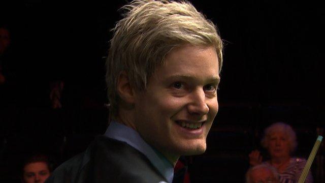 UK Championship: Robertson wins after 145 break
