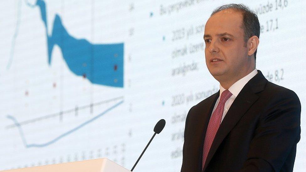 Eski Merkez Bankası Başkanı Murat Çetinkaya