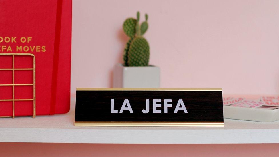 Cartel de La Jefa