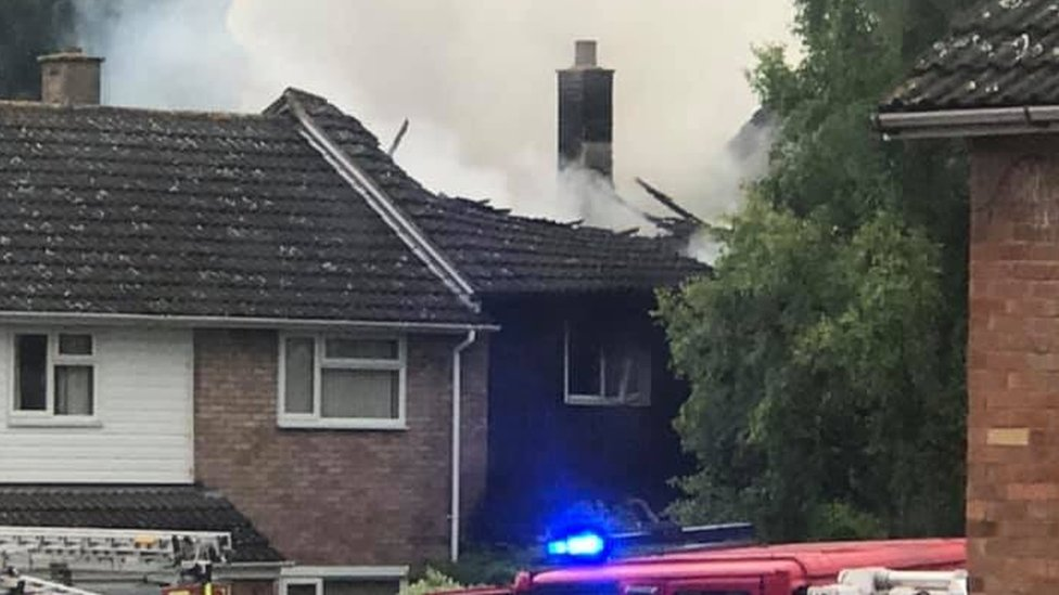 Hereford house blaze victim's wife of 67 years died