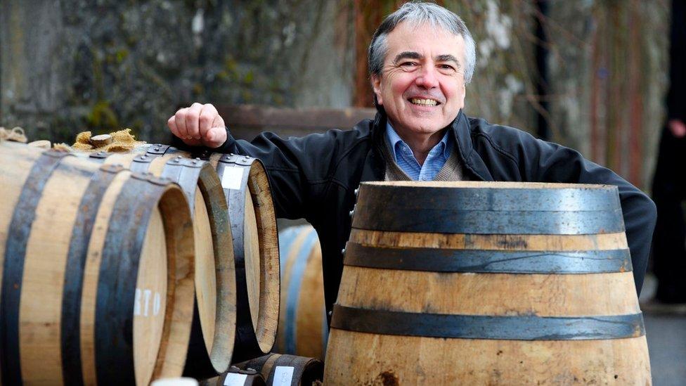 Tony Reeman-Clark, founder of Strathearn Distillery