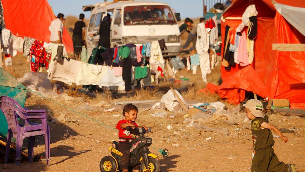 صورة من الأرشيف: الوضع الإنساني المتدهور في درعا