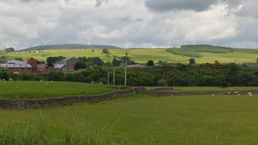 Lowther Hills wind farm objection lodged