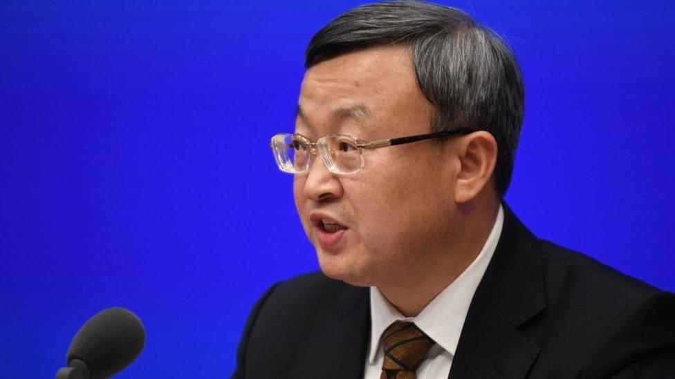 El viceministro de Comercio de China, Wang Shouwen.