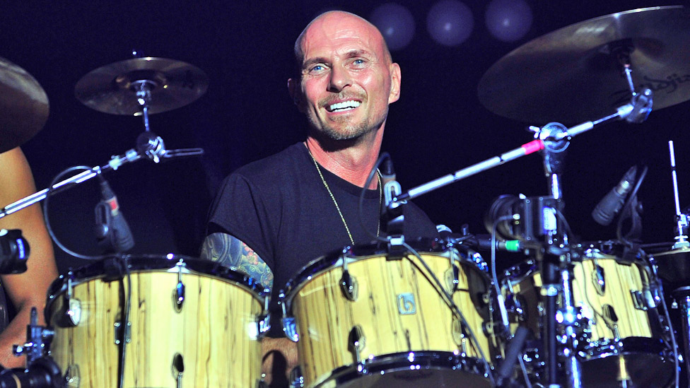 Luke Goss on stage at the O2 Academy Brixton in 2019