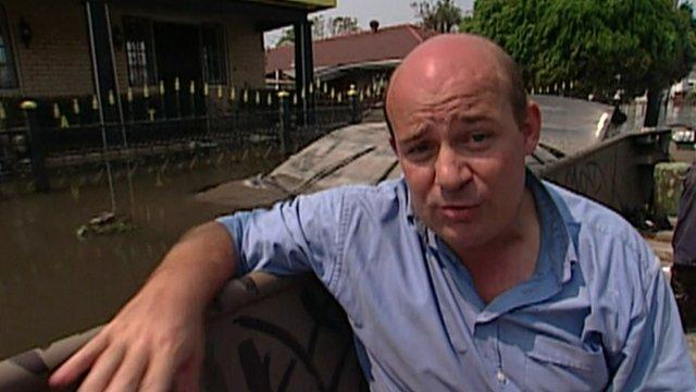 Al Leithead during Katrina