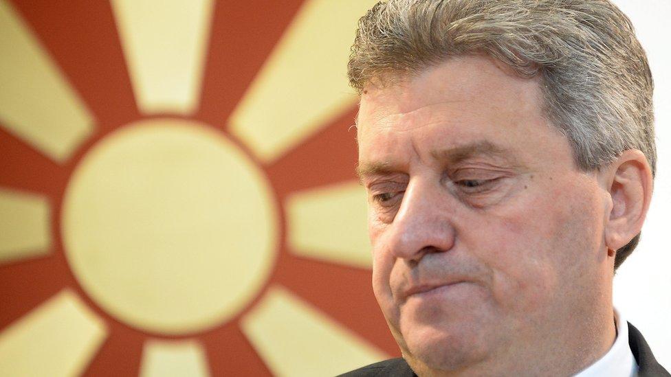 President Gjorge Ivanov (27 May 2016)