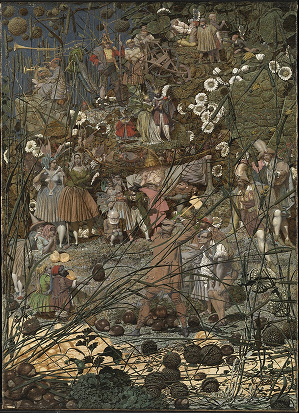 Richard Dadd's The Fairy Feller's Master-Stroke, 1855-64 (which is on display at Tate Britain from 12 October 2020)