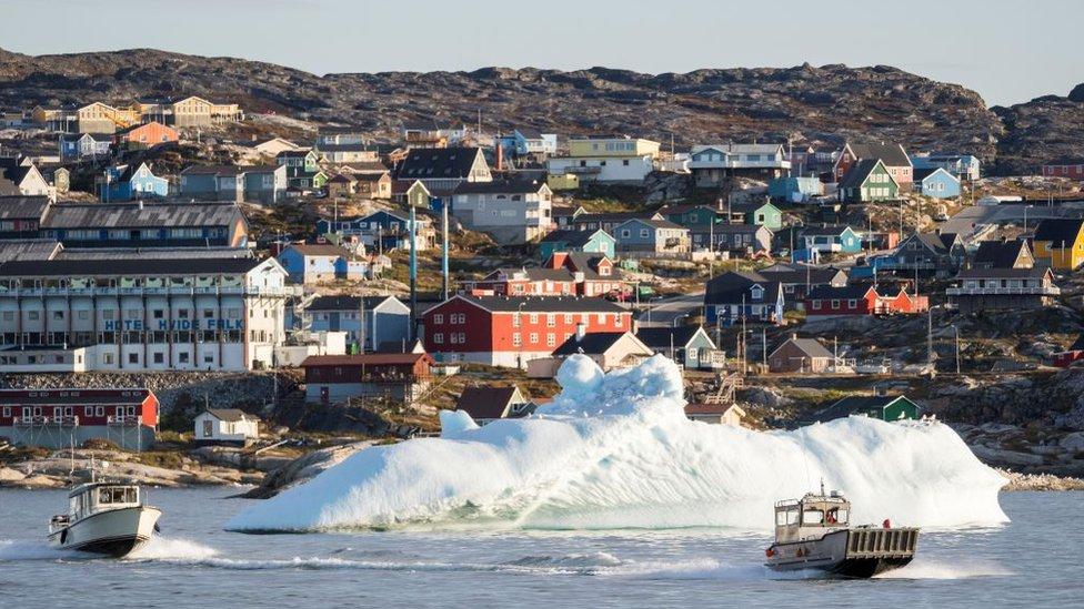 格陵蘭西岸的迪斯科灣風景秀美。