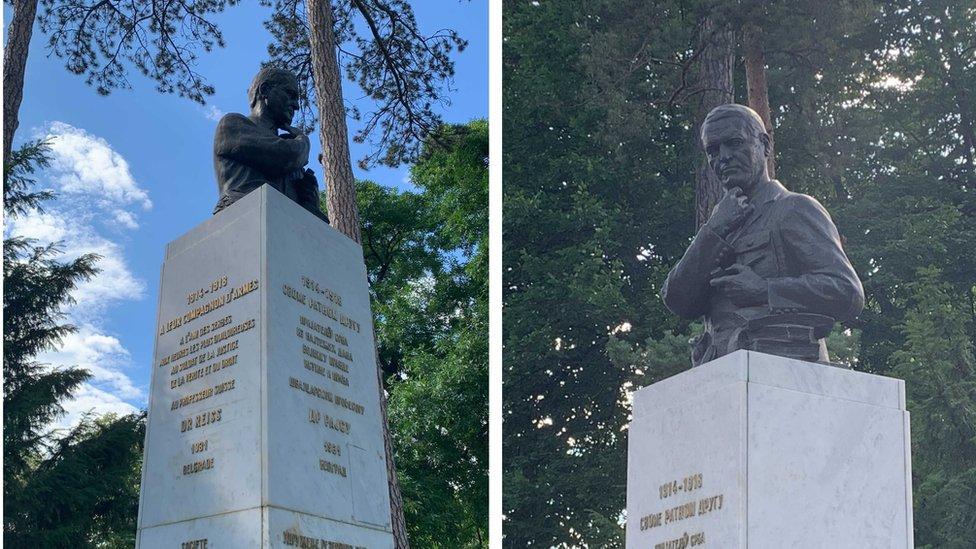 spomenik u Topčiderskom parku
