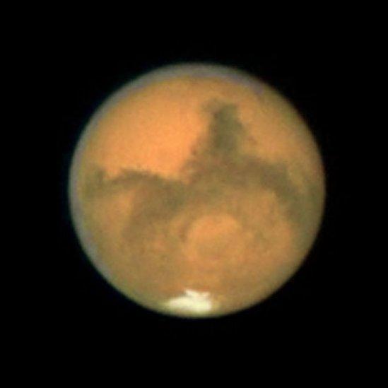 Hubo un tiempo en que Marte tuvo océanos y lagos.