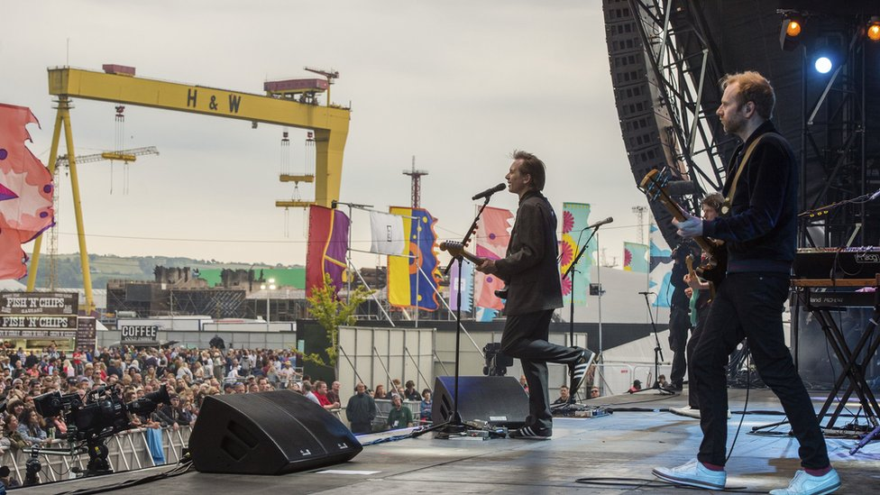 Belfast's Biggest Weekend: Day two in pictures