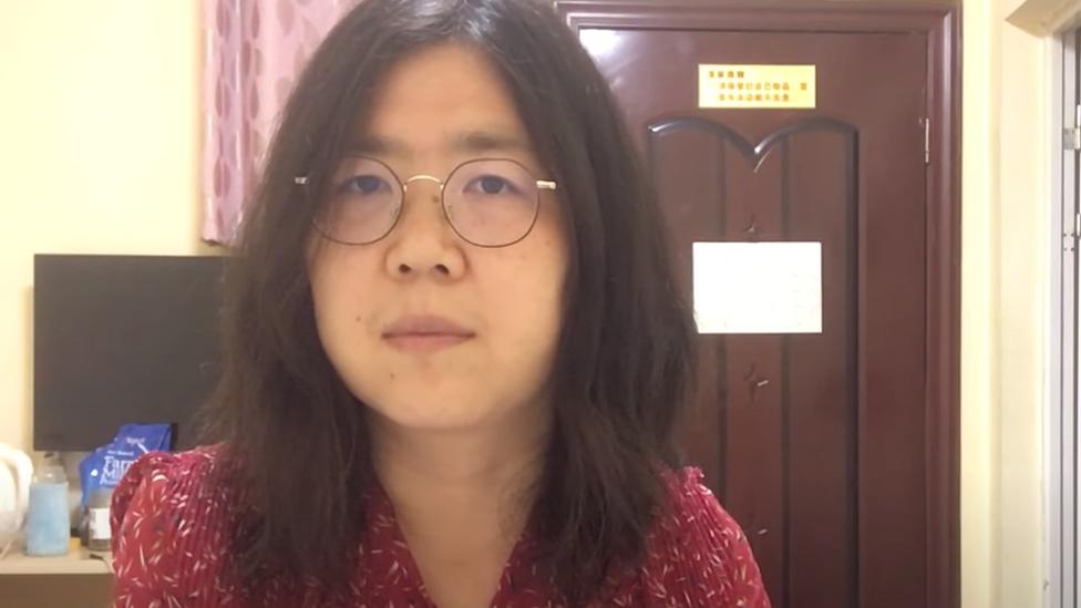 Zhang Zhan: China jails citizen journalist for Wuhan reports thumbnail