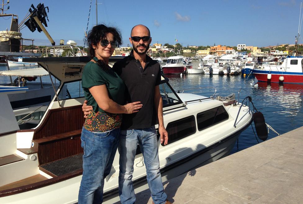 Angela and Giorgio