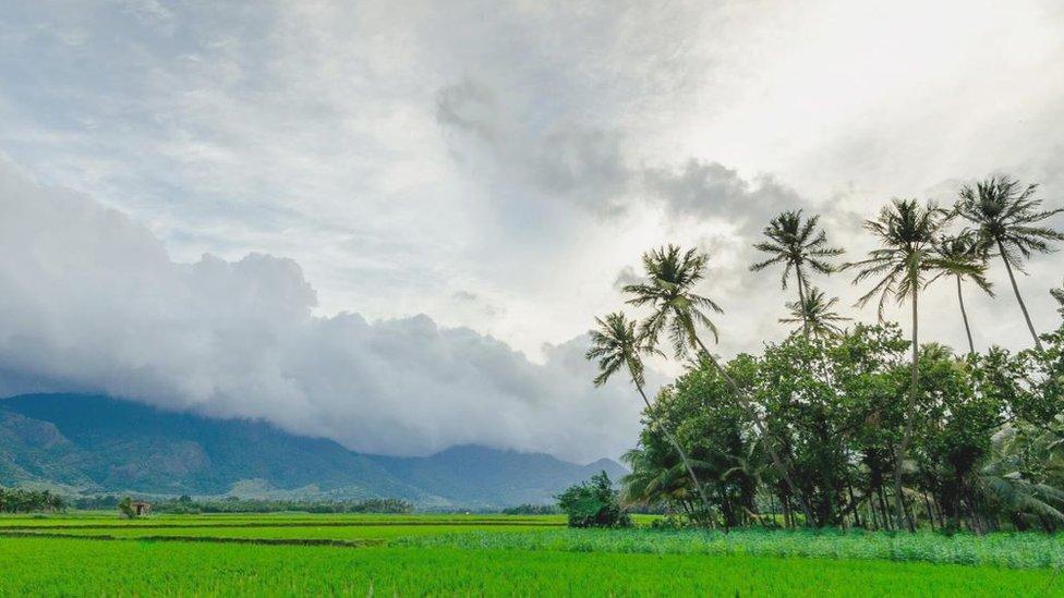La aldea de Sridhar