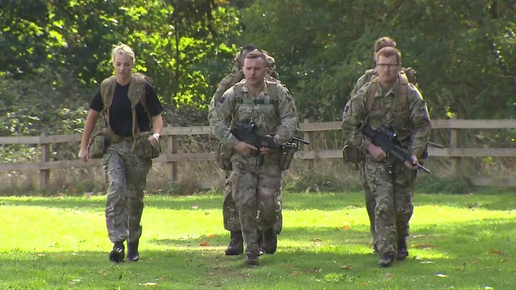 The British army has introduced new fitness tests
