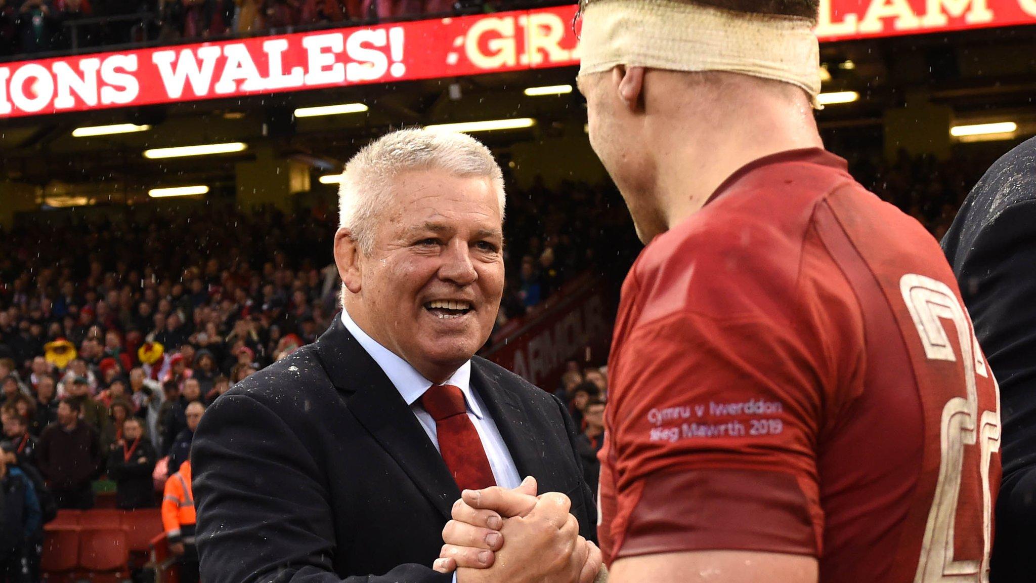 Dan Biggar: Wales 10 would not begrudge Warren Gatland taking England job