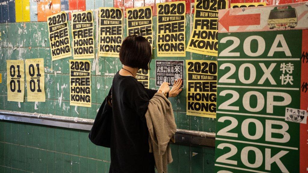 香港示威:農曆新年前後街頭是否正在恢復平靜