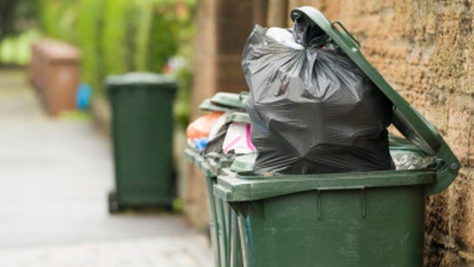 Denbighshire council plans monthly bin collection