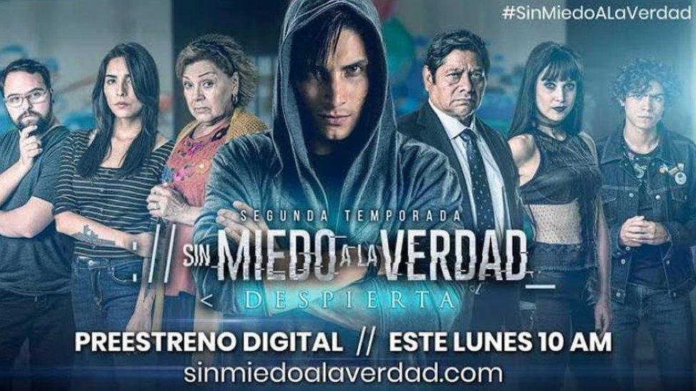 Sin Miedo a la Verdad es una serie de Televisa.