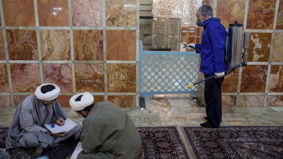 Mezquita en Qom