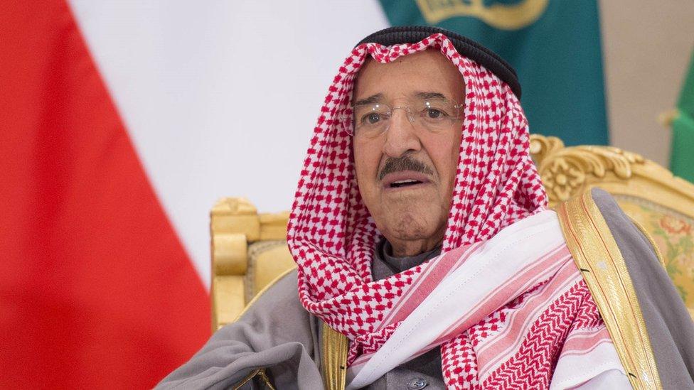 أمير الكويت الراحل كان شخصية مؤثرة في السياسة الخليجية