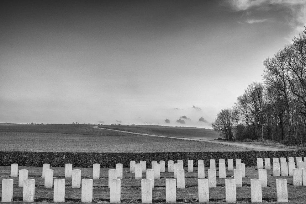 Bernafey Wood, Somme