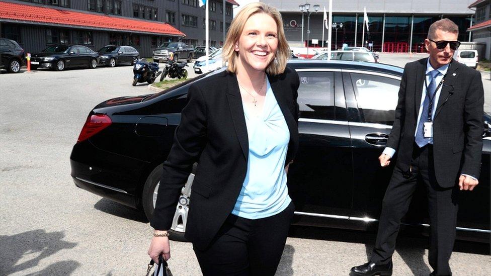 Norveška ministarka zdravlja Silvi Listhaug