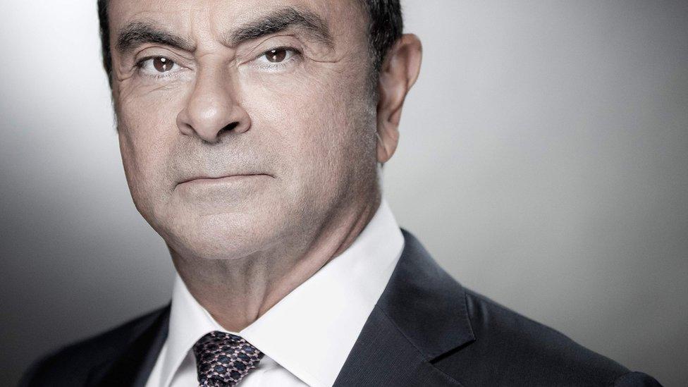 Carlos Ghosn en 2018