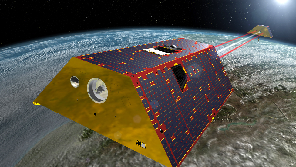 Grace mission launches to weigh Earth's water