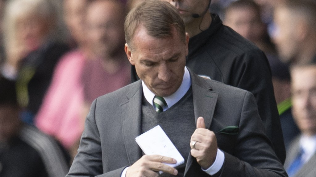 Celtic's Brendan Rodgers facing 'enormous couple of weeks', says Chris Sutton