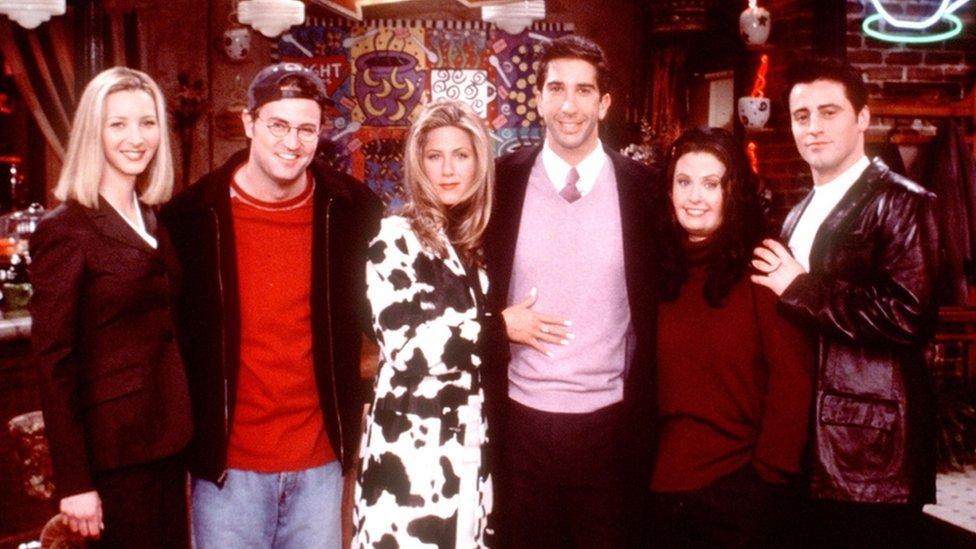 El reparto de la serie de televisión Friends