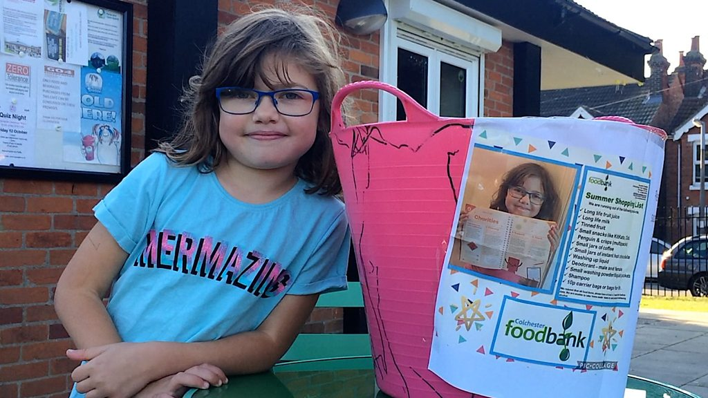 Colchester junior parkrunner takes on food bank charity challenge