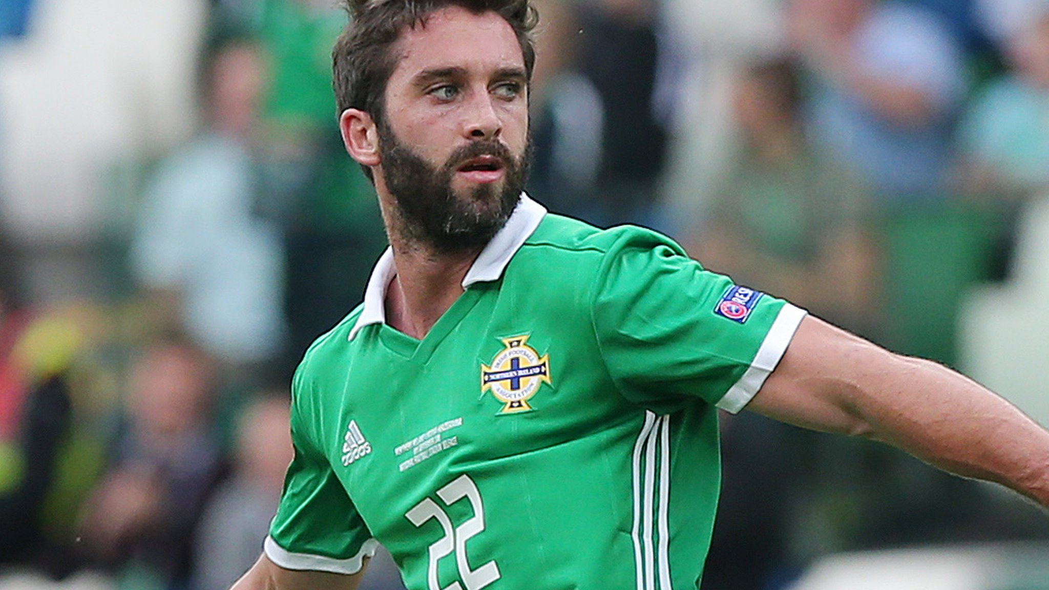 Northern Ireland striker Grigg out of Euro qualifiers