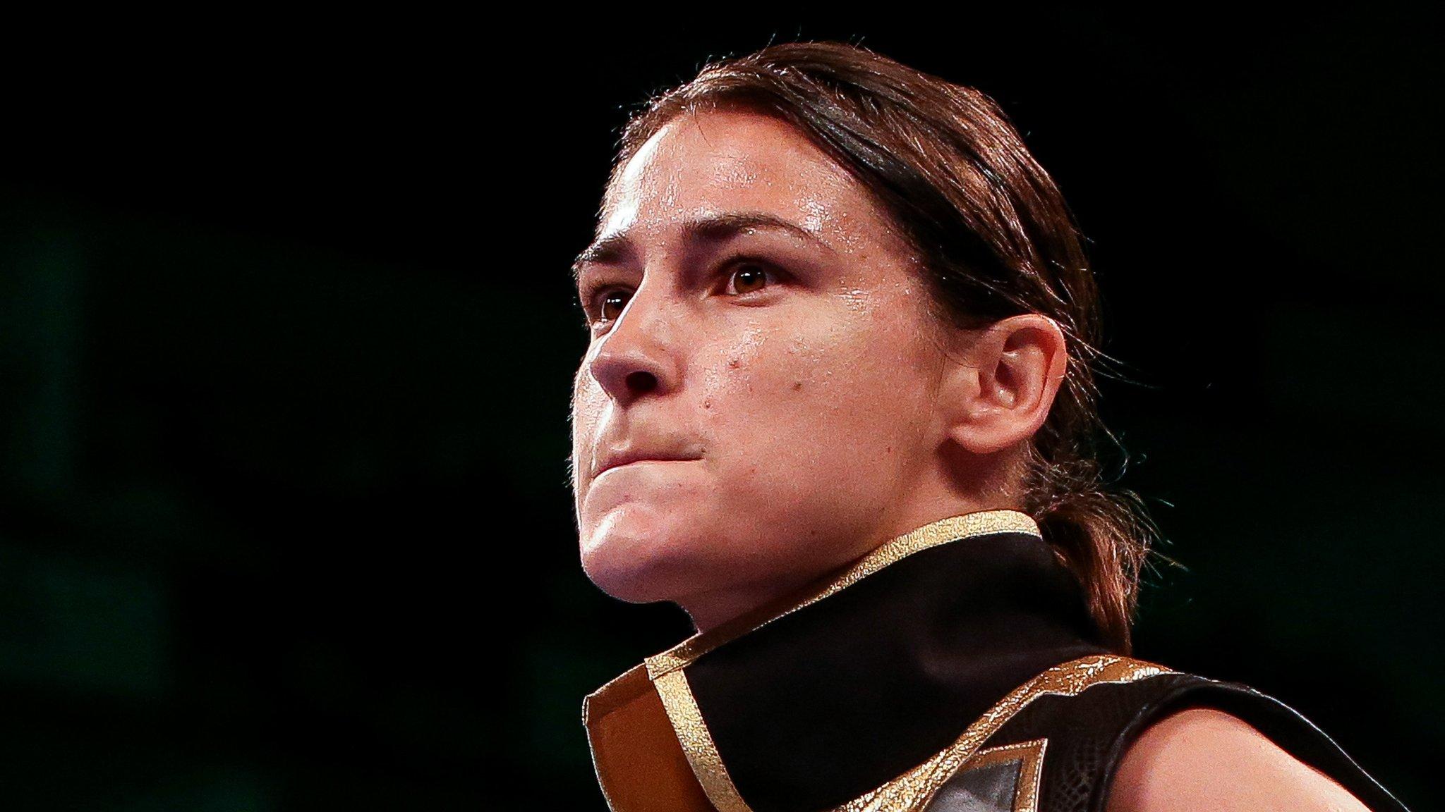 Katie Taylor: Dominant Irish woman beats Serrano to retain world titles