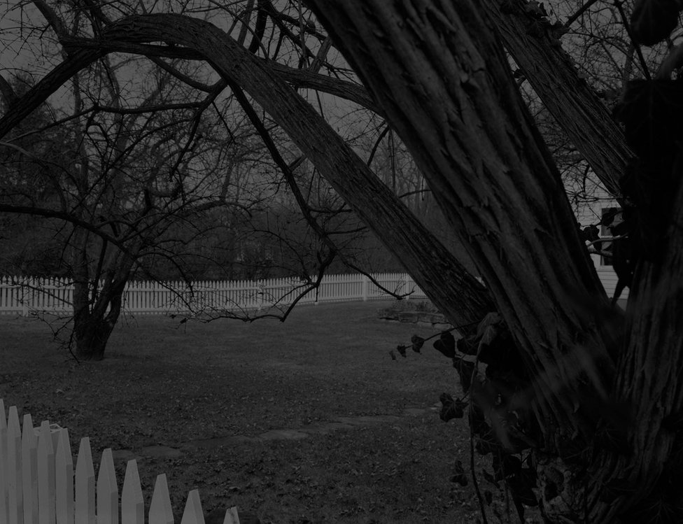 Bey-Untitled #21 (Farmhouse and Picket Fence II) by Dawoud Bey