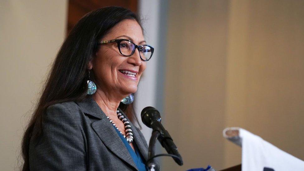Biden nominates Native American woman for cabinet post