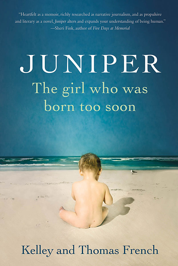 "Portada del libro ""Juniper, la niña que nació demasiado pronto""."